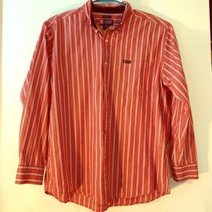 Chaps Shirt, Long Sleeved, Button Down, Easy Care
